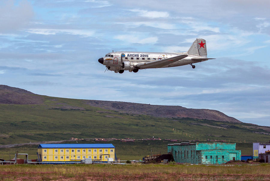 3. Эти самолеты не появлялись здесь с сороковых годов!
