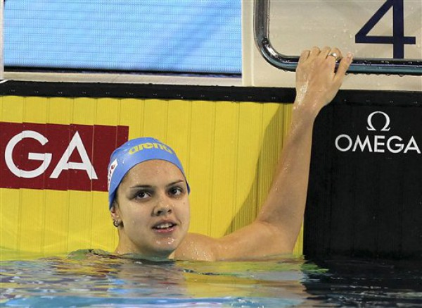 Украинская пловчиха одолела чемпионку мира