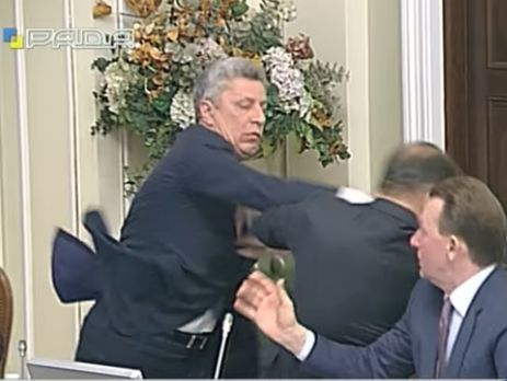Дело о потасовке Ляшко сБойко забрала ГПУ