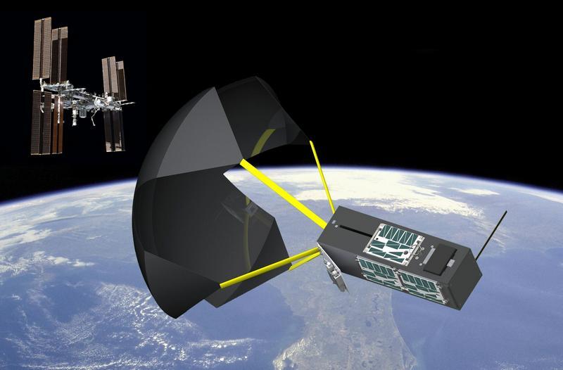ВNASA тестируют космический парашют