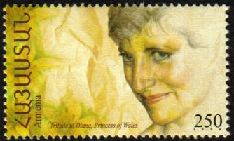 Armenian Stamps Lady Di