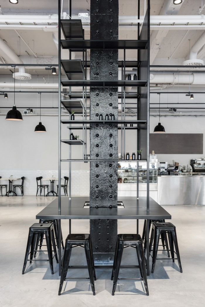 Take a look at this stunning industrial style interior designed by Richard Lindvall. Using huge amou