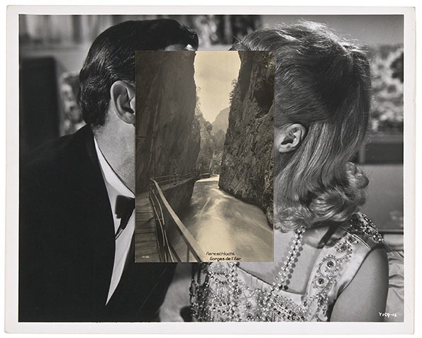 London based artist John Stezaker 's work re-examines the various relationships to the photographic