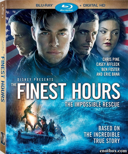 И грянул шторм / The Finest Hours (2016/BDRip/HDRip/3D)