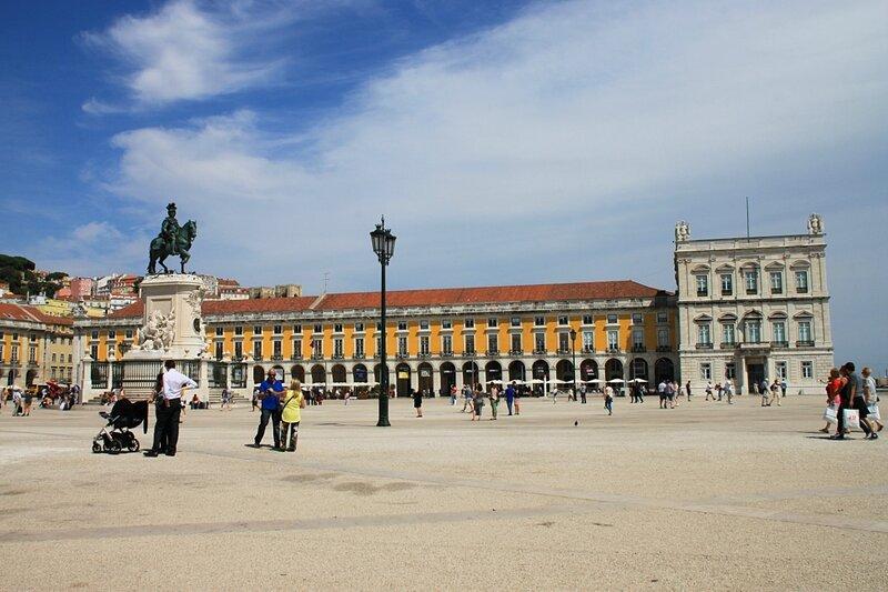 Лиссабон, площадь Коммерции (Lisbon, Commerce Square)