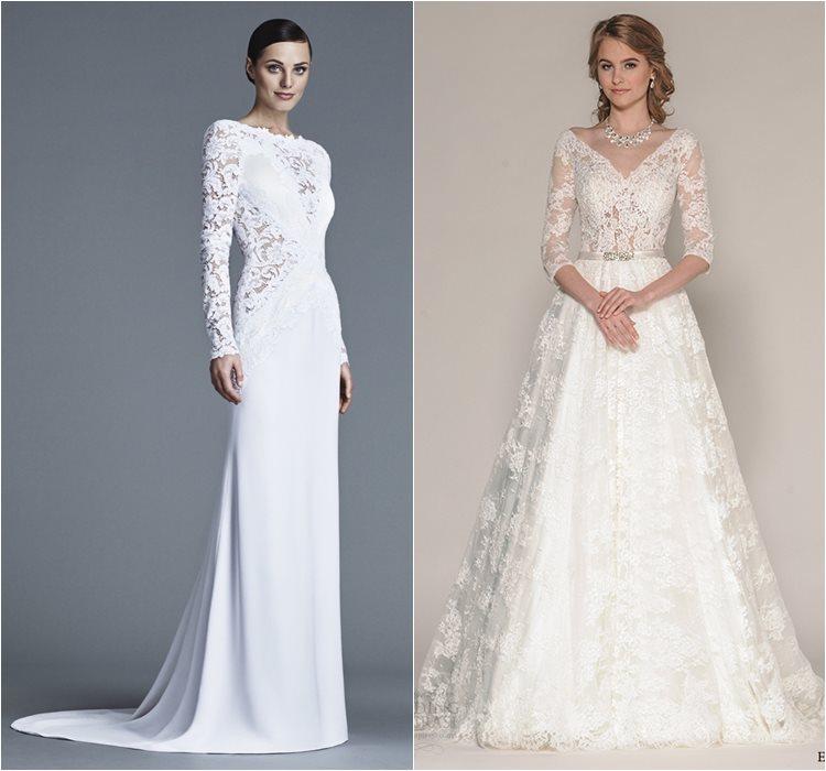 Кружевные свадебные платья 2016 фото 4
