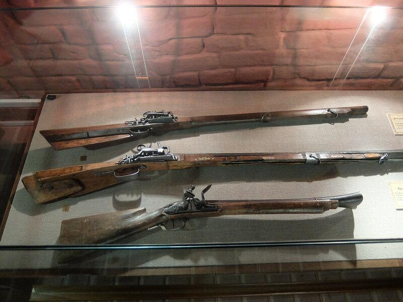 Тобольский Кремль - Дворец наместника - Оружие XVII-XVII вв