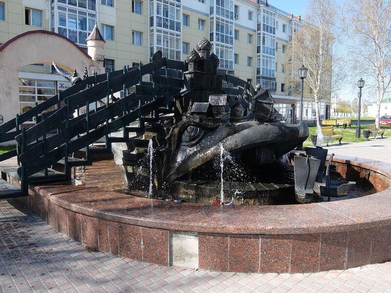 Тобольск - Рыба-кит