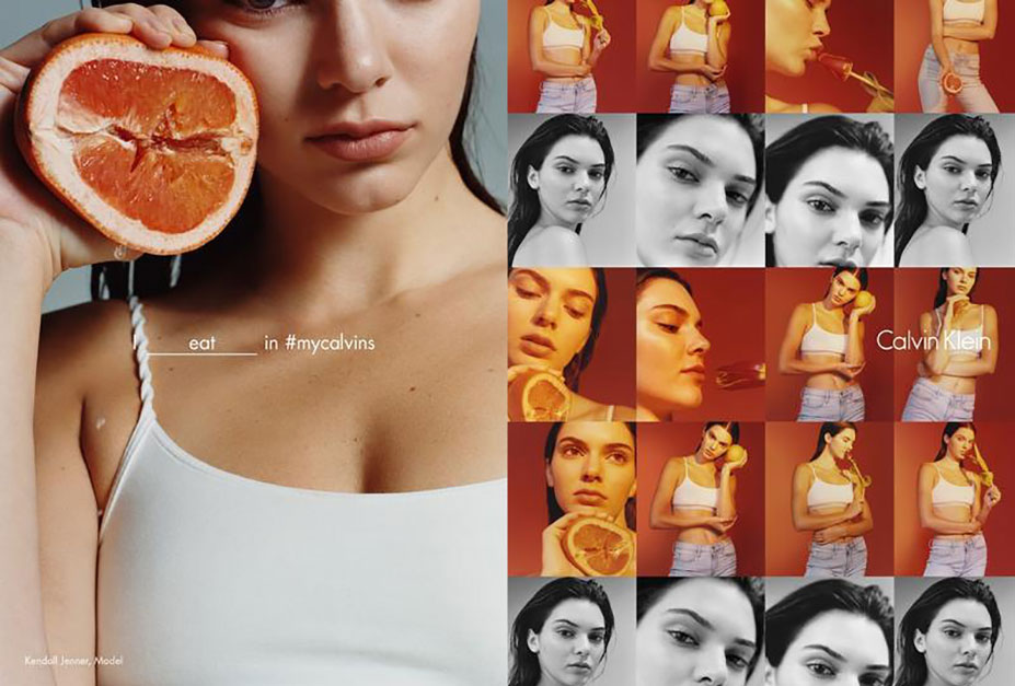 Я ем / I eat - Kendall Jenner - Calvin Klein Spring 2016 Global Campaign by Harley Weir