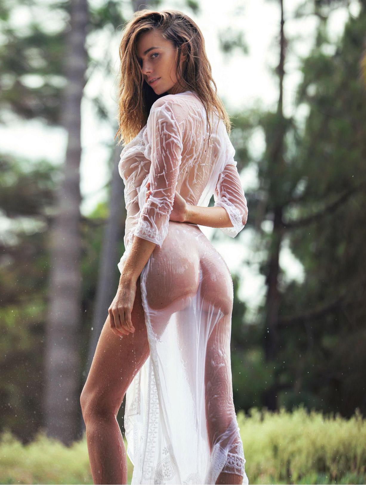 модель Антея Пейдж / Anthea Page by David Bellemere - Playboy USA june 2016