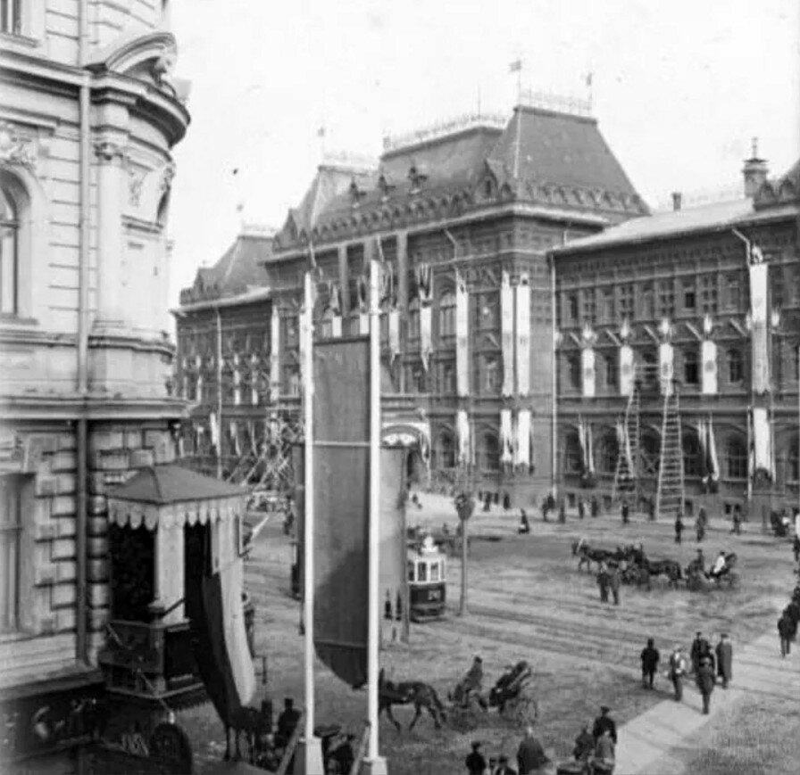 1913. Воскресенская площадь