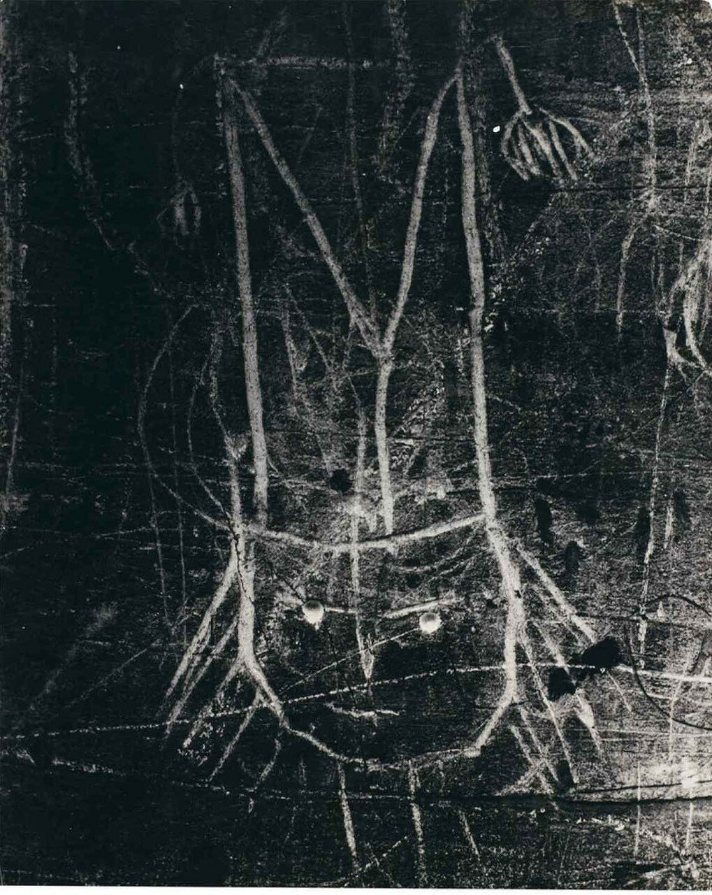 1935. Граффити. Серия VIII. Магия
