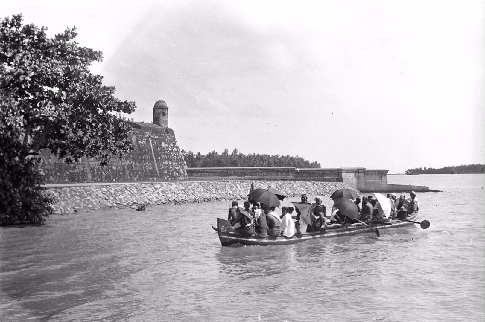 335. Баттикалоа. Старый форт и паром