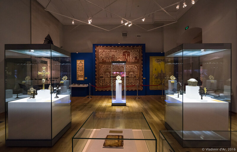 Выставка Армения. Легенда Бытия. Христианский период.