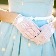 Перчатки из сеточки