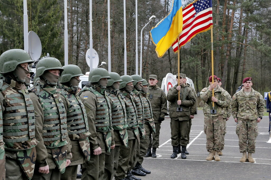 Здравствуй, НАТО на Украине!