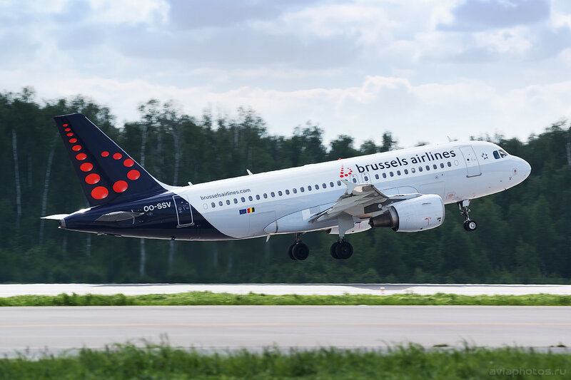 Airbus A319-111 (OO-SSV) Brussels Airlines 172_D800840