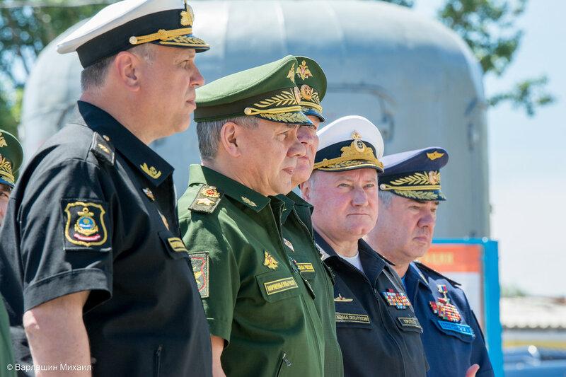 Сергей Шойгу прибыл в Астрахань
