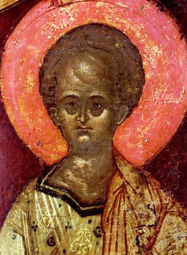 """Икона Божией Матери """"Знамение"""". Россия, XVI век."""
