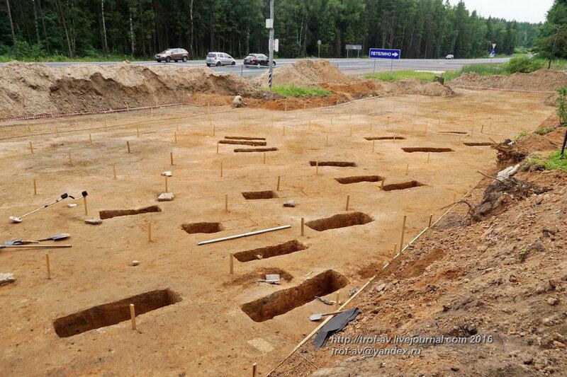 Спасательные археологические раскопки селища Петелино-1, средневековой некрополь