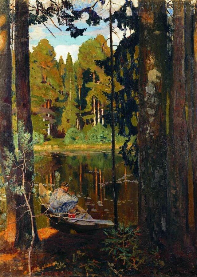Тихое озеро. 1908.jpg