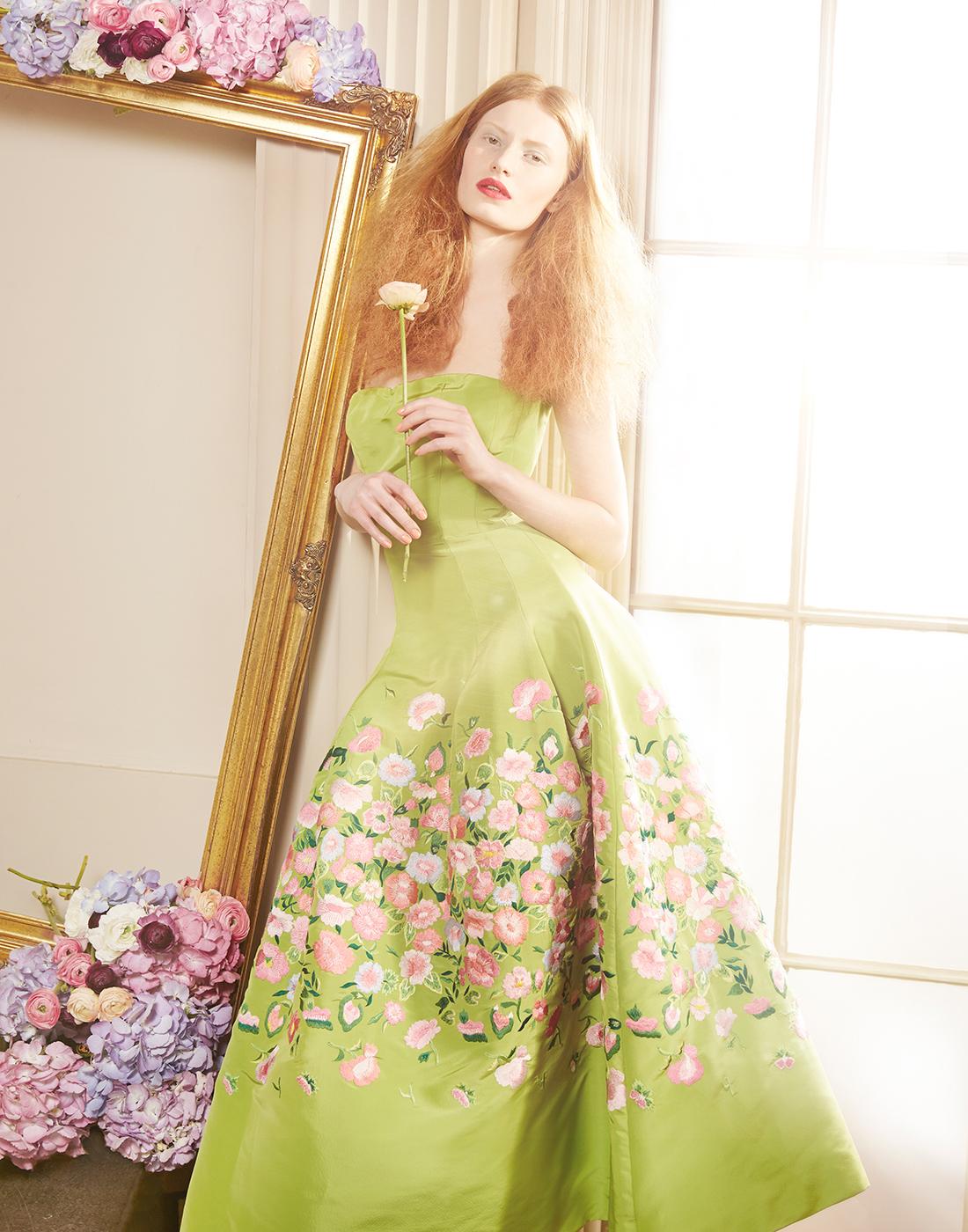 Tale of the Flower Girl - Harrods Magazine / Stephanie Hall - фото Lucia Giacani