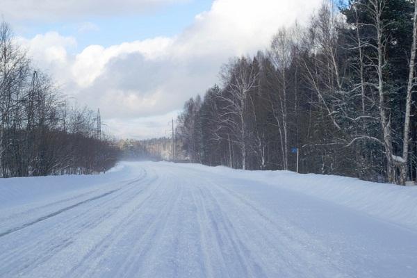 начало снегопада