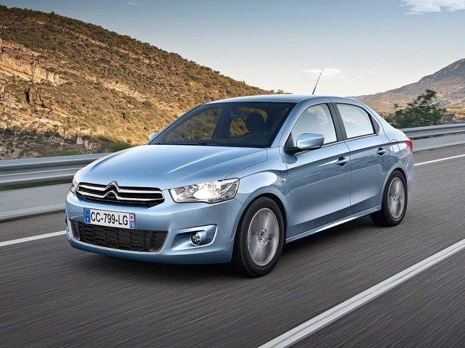 ВоФранции стартовала продажа бюджетного автомобиля Ситроен  C-Elysee