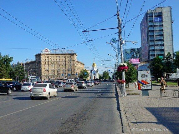 Новосибирск. Красный проспект