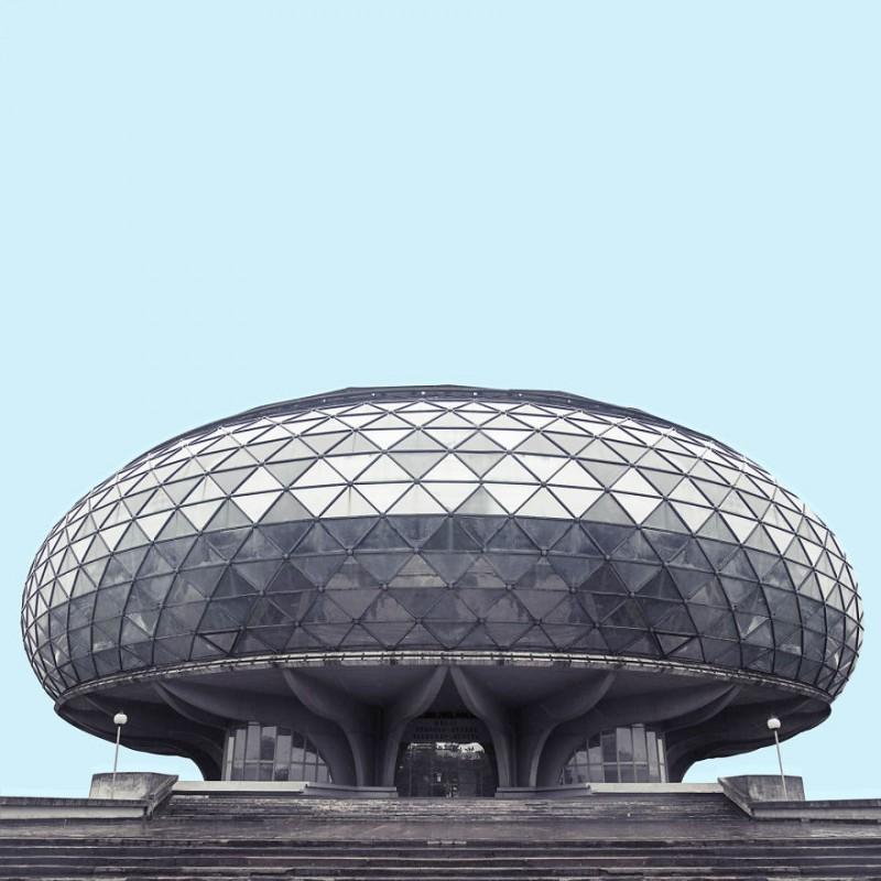Архитектура «Звездных войн» в Белграде (22 фото)