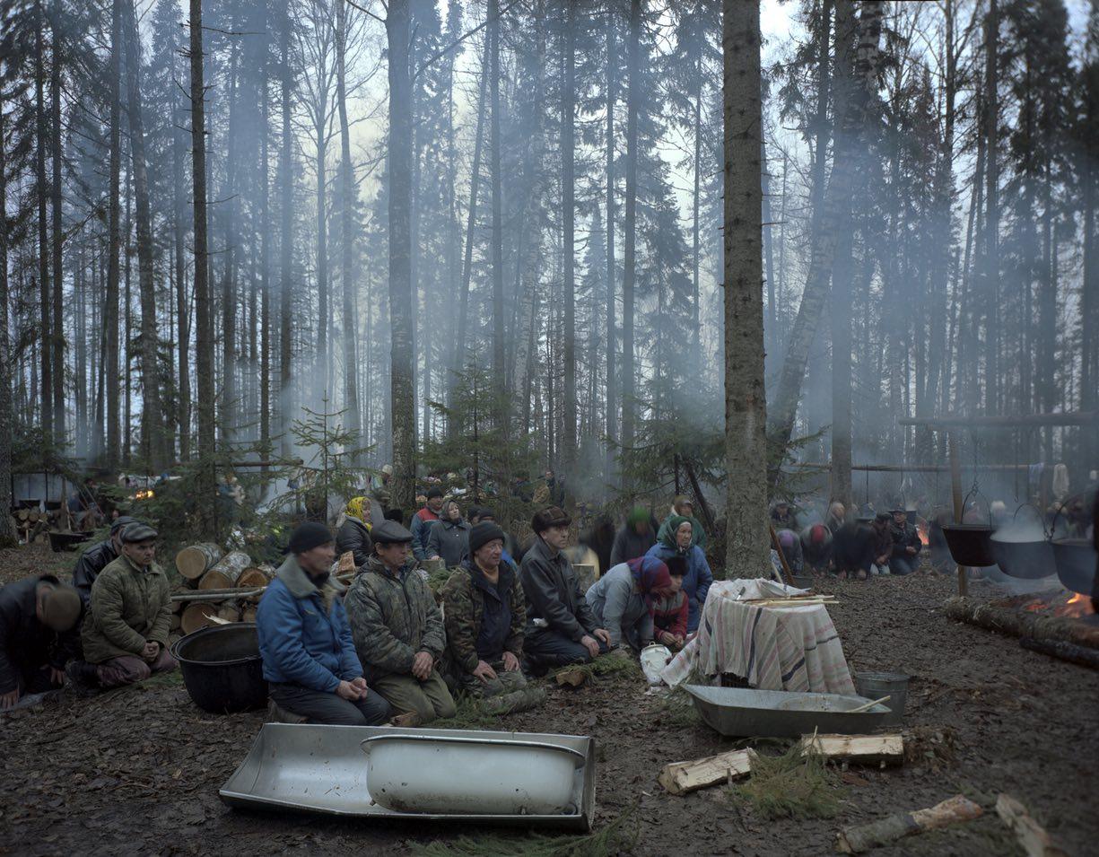 В лесах марийцы проводят ритуалы, жертвоприношения, праздники, массовые моления: просят у природы до