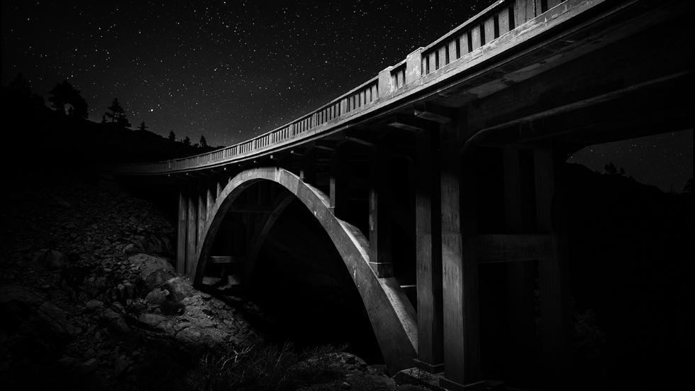 Мост в северной части Сьерра-Невады.