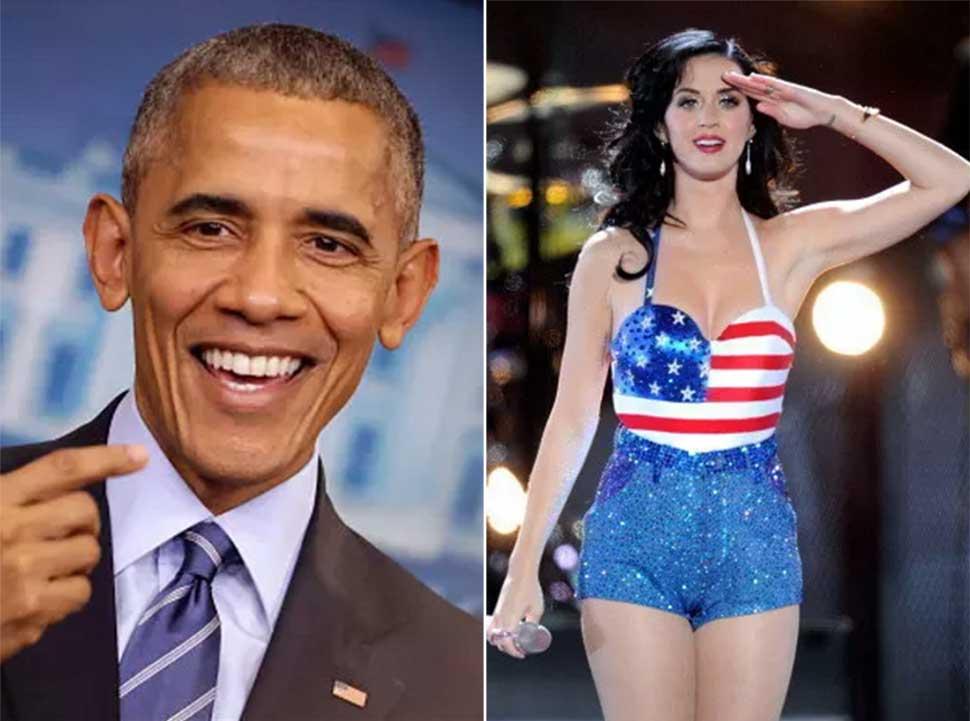 У экс-президента США Барака Обамы больше премий «Грэмми», чем у певицы Кэти Перри Да, у Обамы на сче