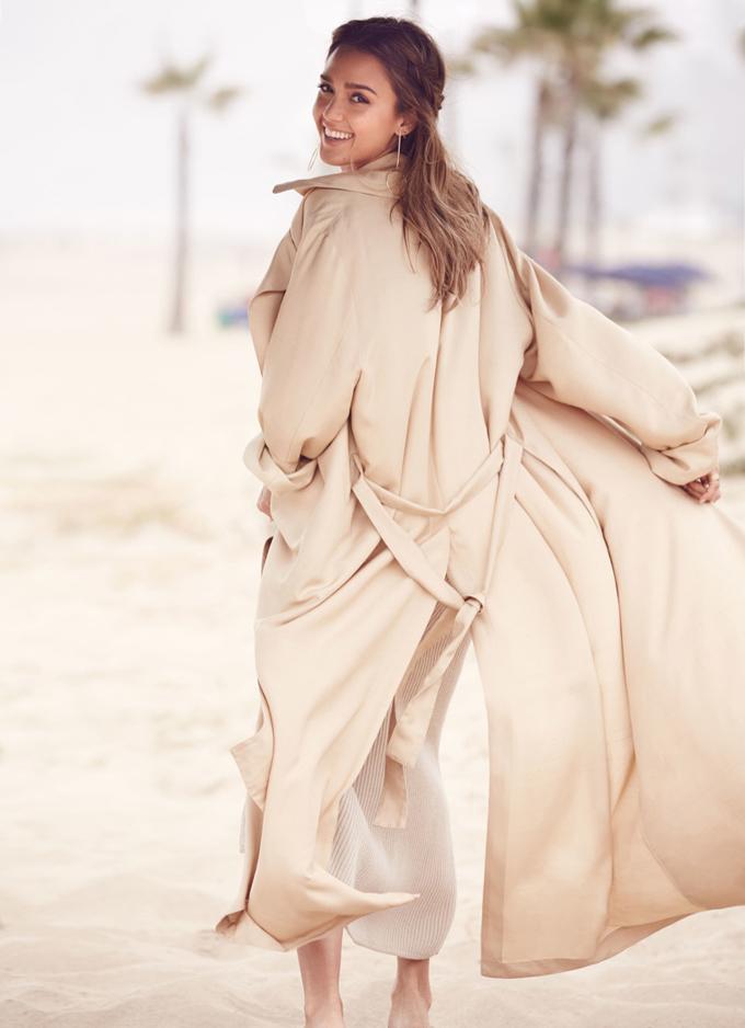Джессика Альба в Allure Magazine