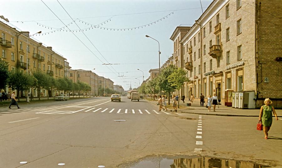 Дореволюционный Петрозаводск в 1972 г.: