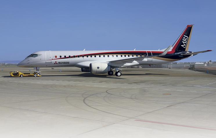 Тестовое испытание японского самолёта MRJ оказалось сорванным