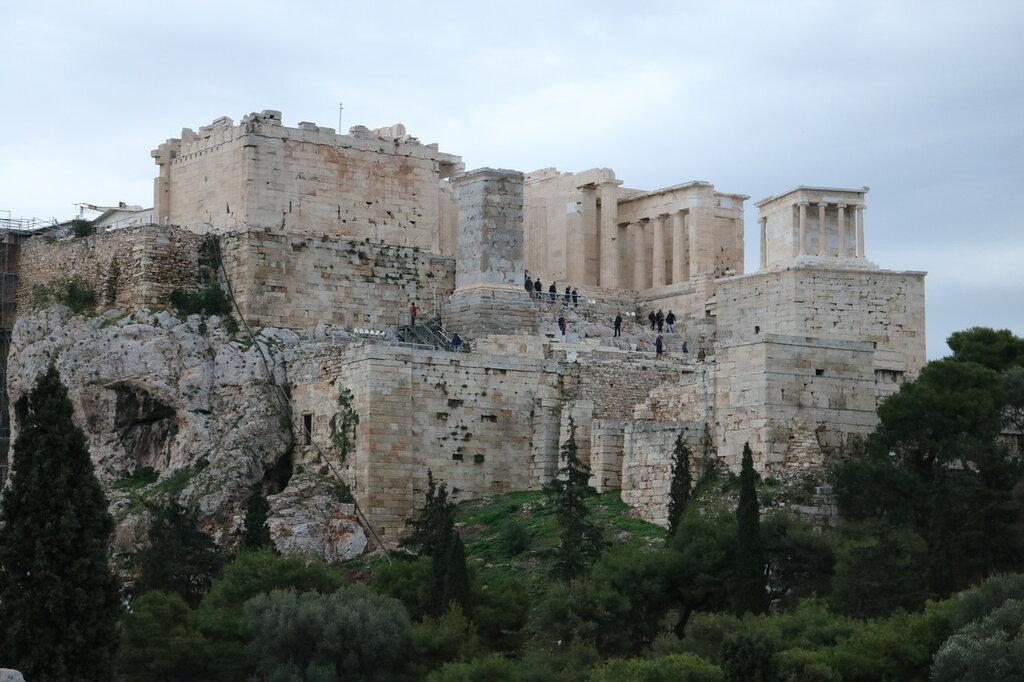 Акрополь, Греция, Афины