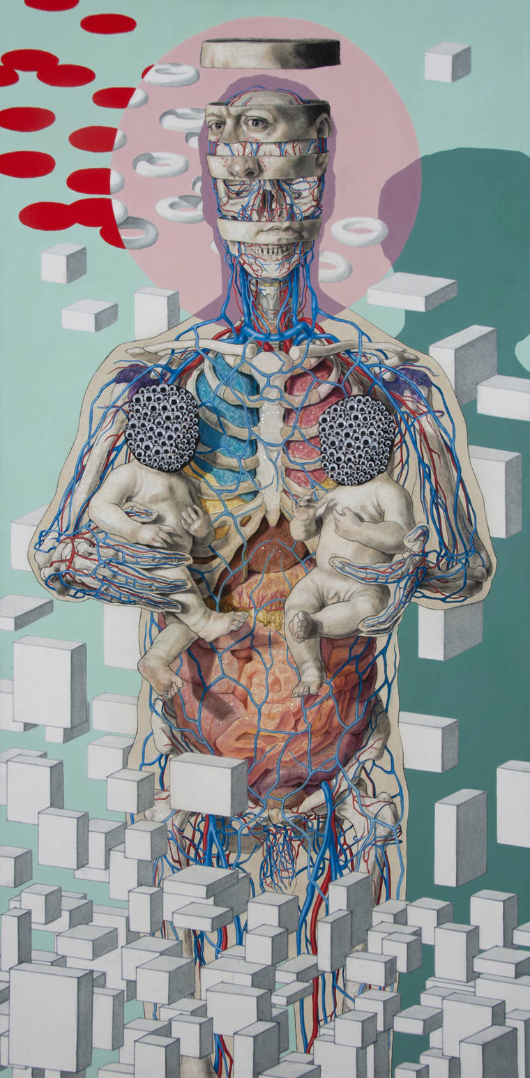 Dust and Moonshine - The anatomical creations of Michael Reedy