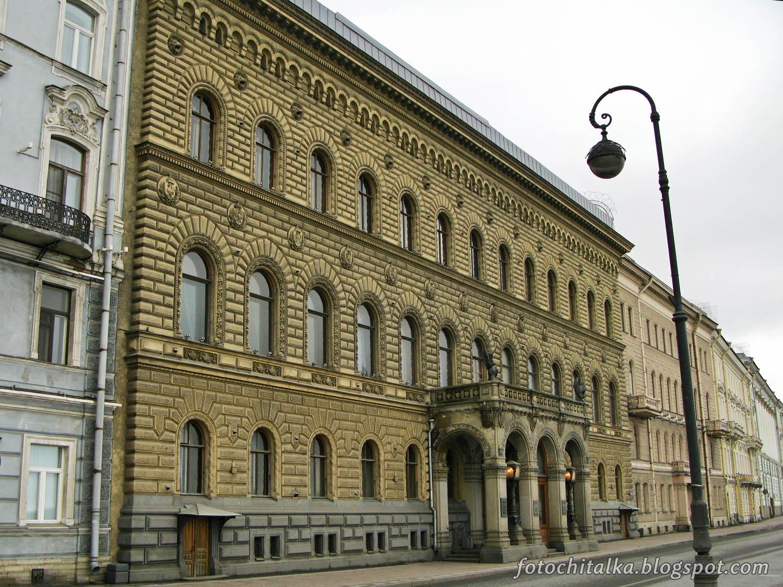 Здание Владимирского дворца - Дома ученых на Дворцовой набережной, 26