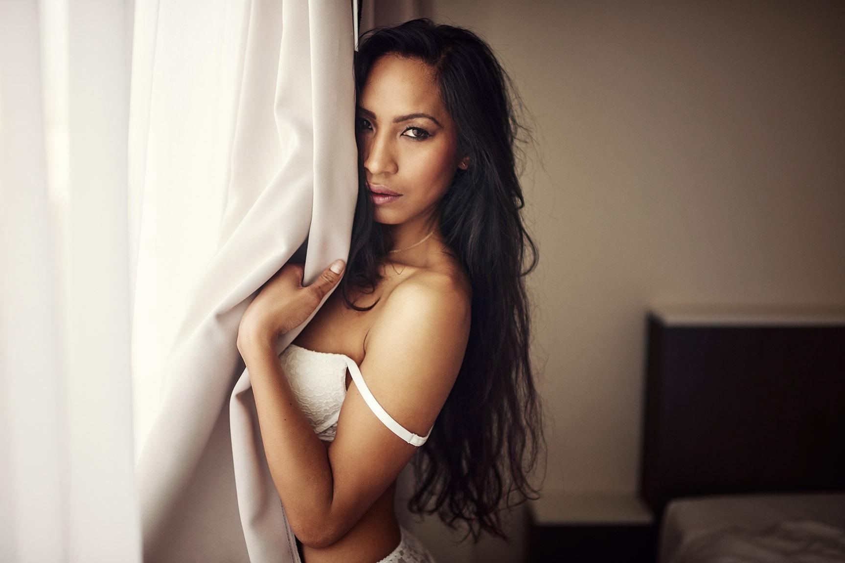 девушки в нижнем белье и эротические портреты фотографа Borremans Romain - lingerie & nude photo