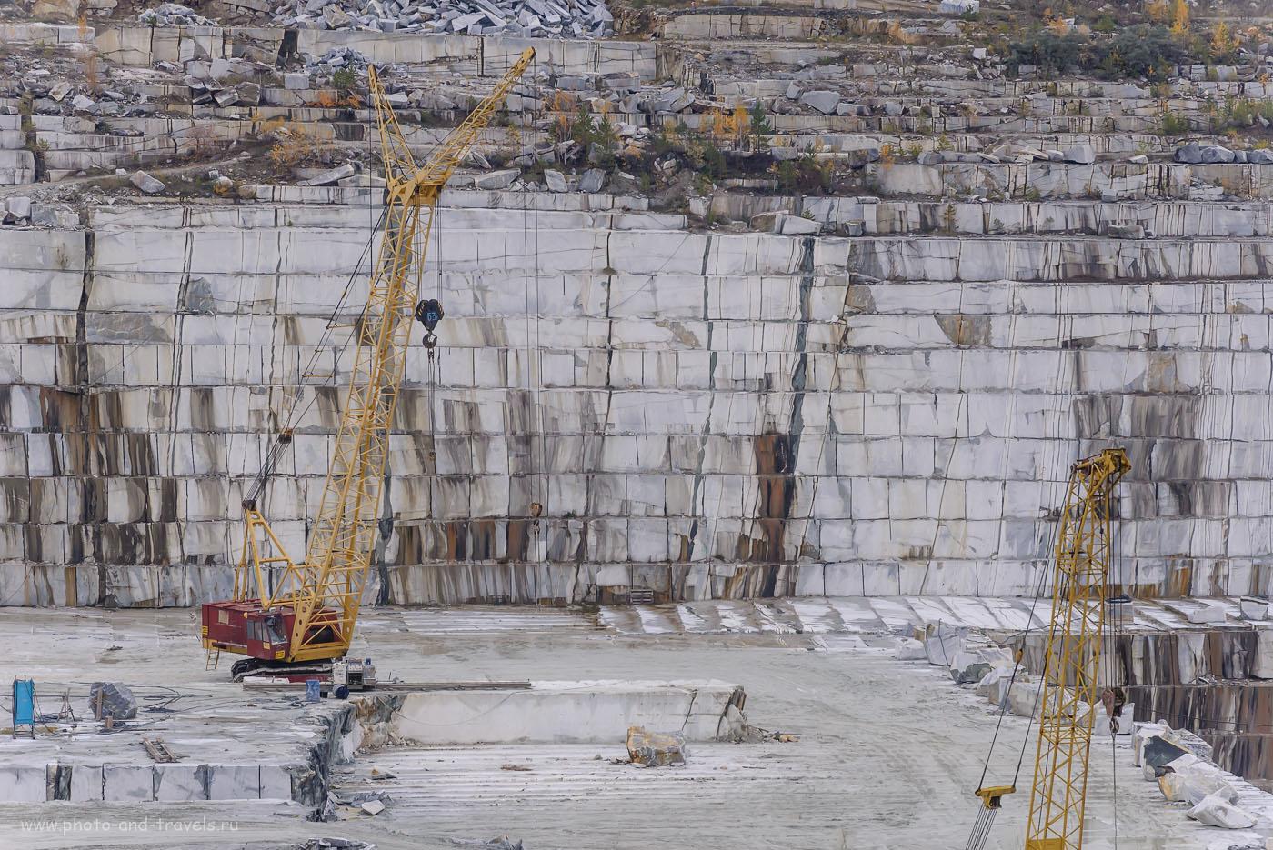 Фотография 21. Наверное, половина Петербурга построена с использованием мрамора из Мраморского карьера. 1/320, +0.67, 8.0, 800, 185.