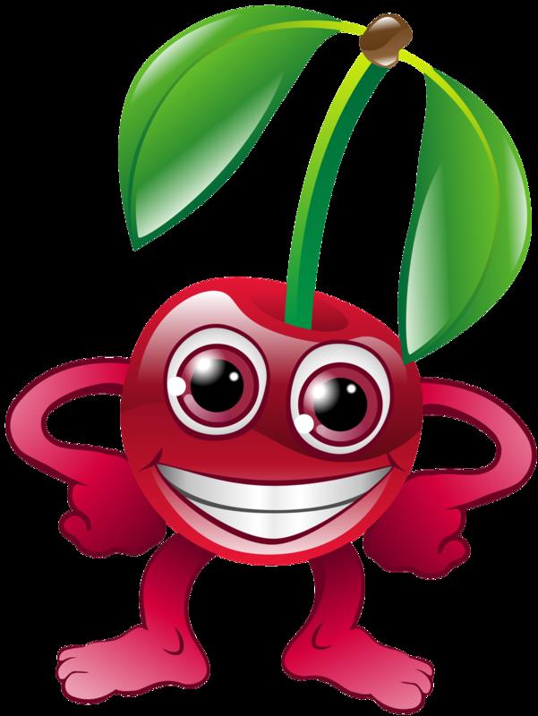 Смешные фрукты рисунки