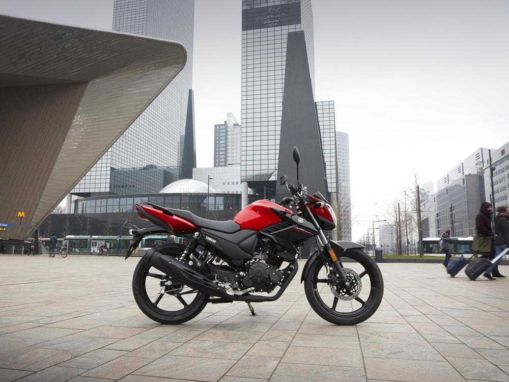 Yamaha YS125 2017 - преемник Yamaha YBR125