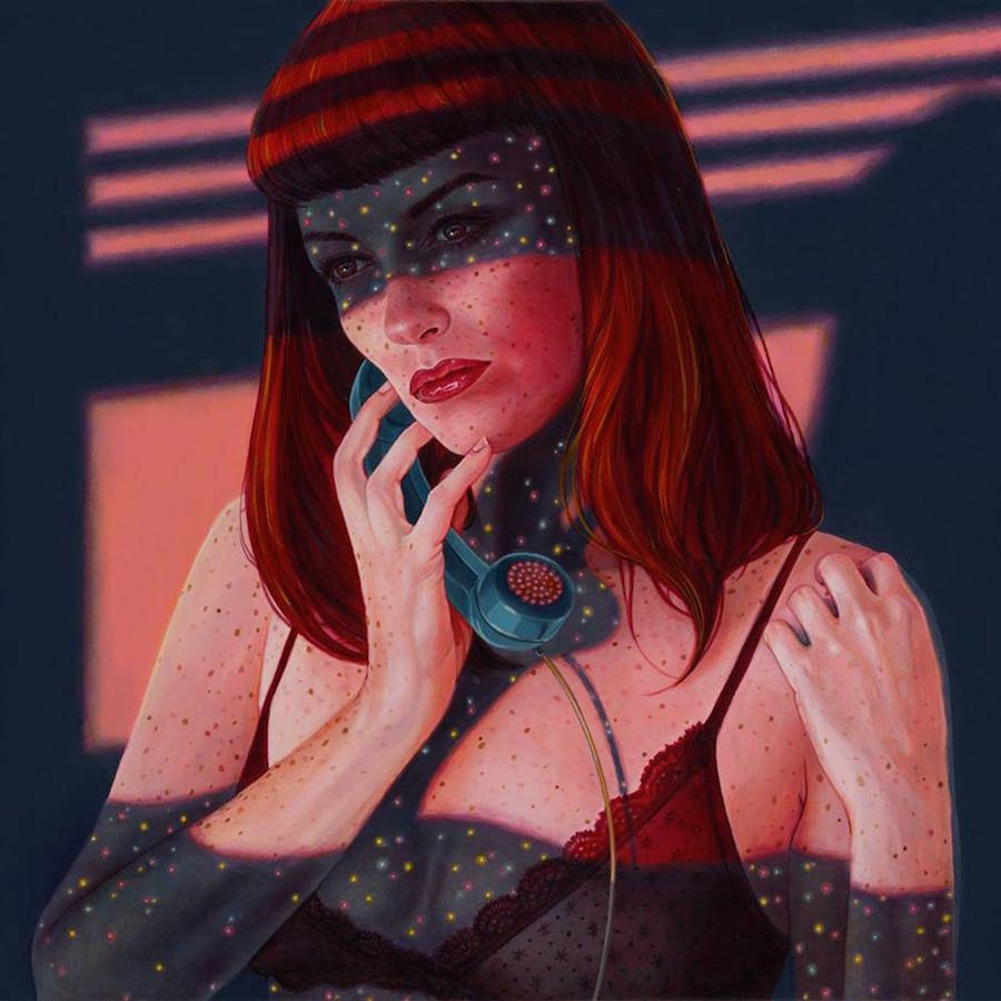 Odd Dystopian Paintings by Casey Weldon