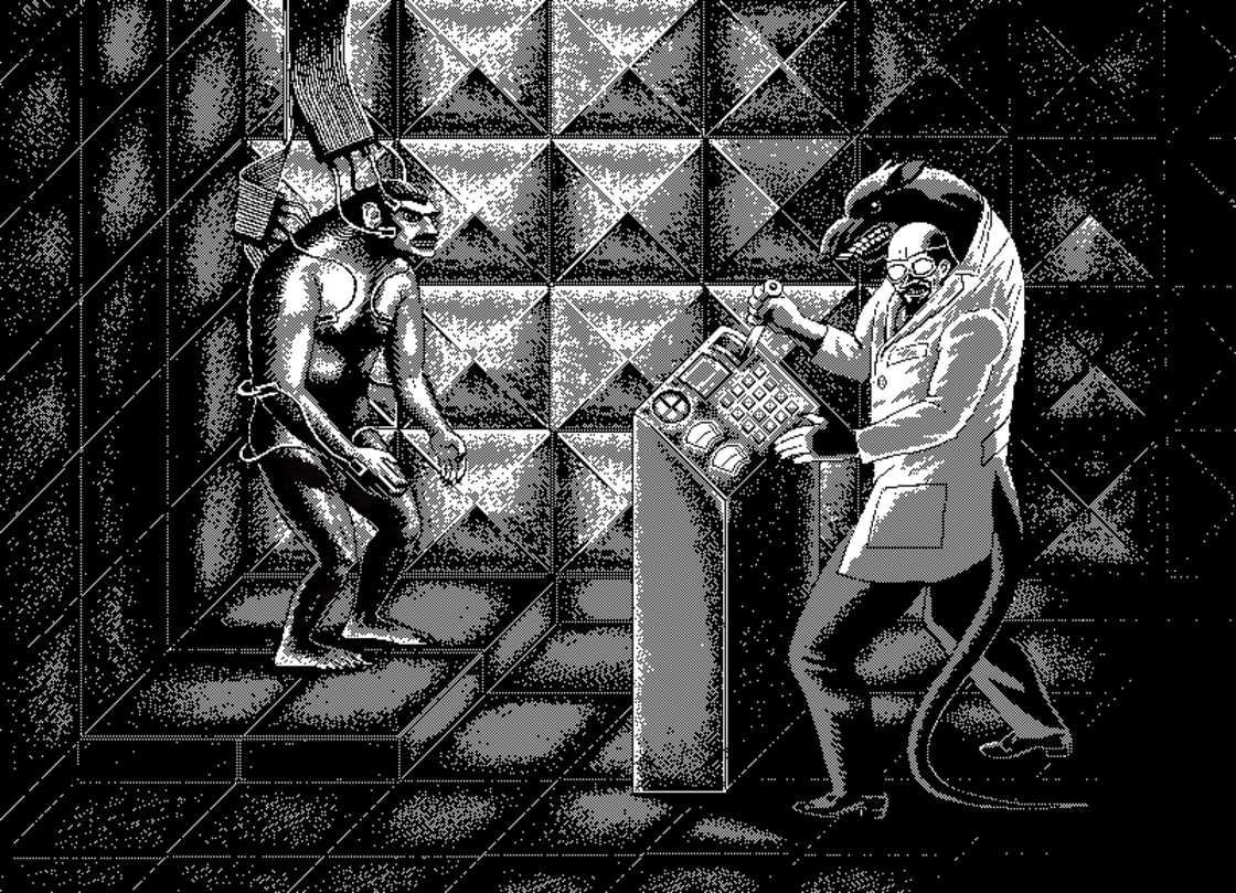 Supernature! - Le pixel art sombre et vintage d'Uno Moralez