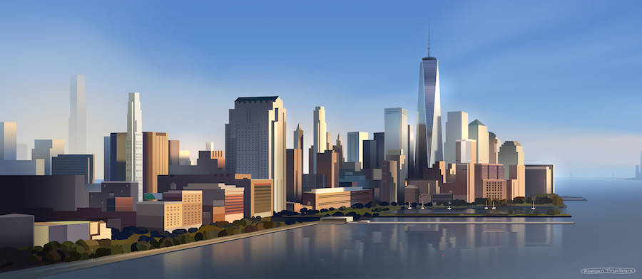 Accurate Digital Illustrations of NYC