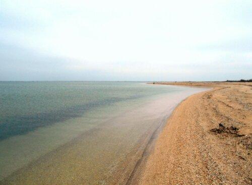 На песках ... У моря