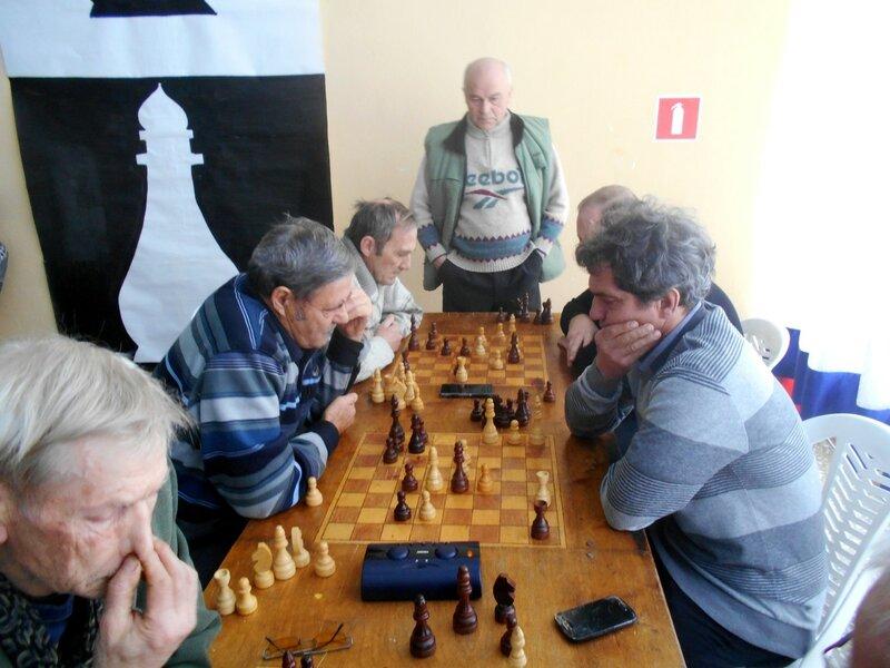 Играем ... Шахматный турнир. Выселки. Декабрь 2016