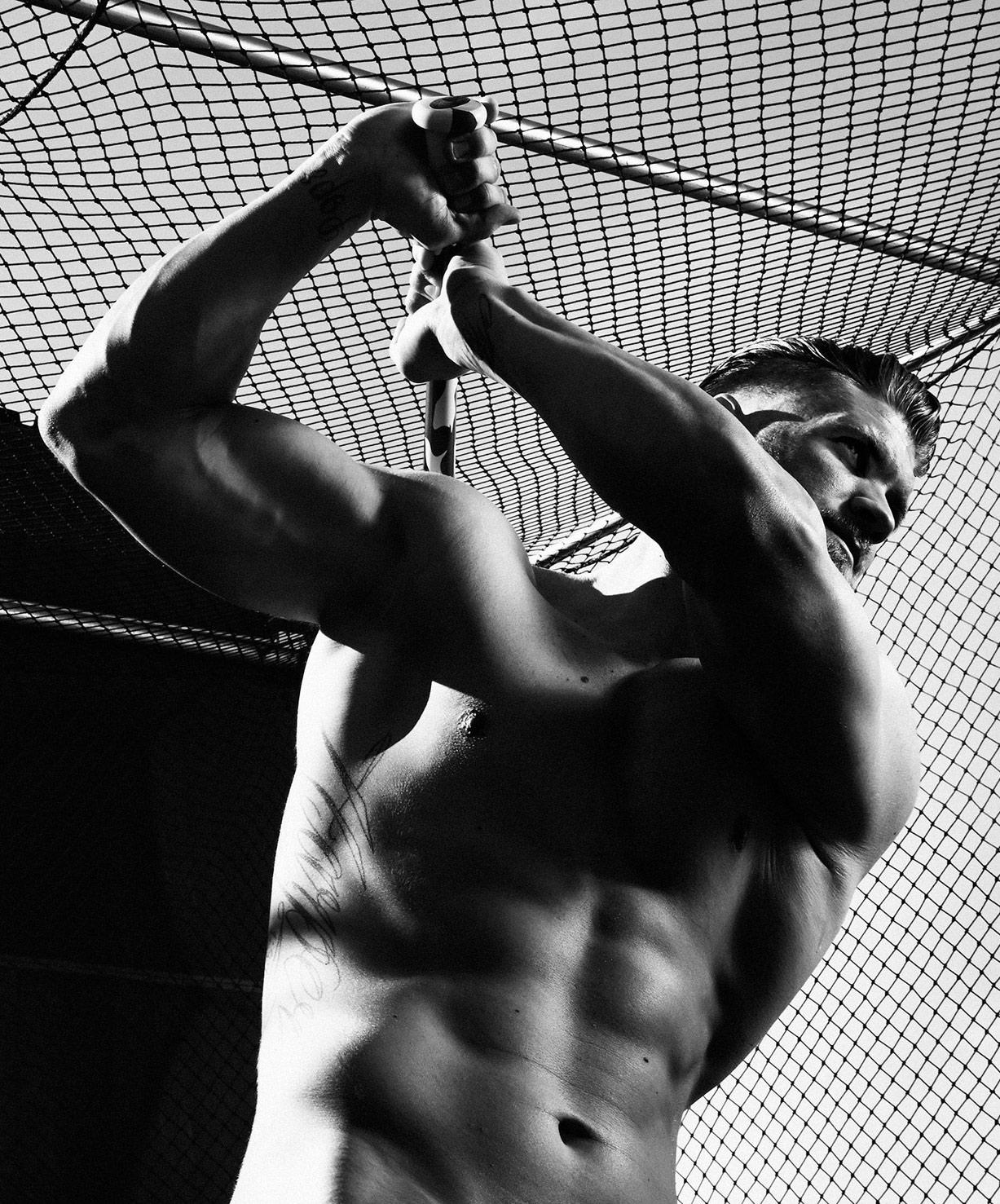 ESPN Magazine The Body Issue 2015 - Bryce Harper / Брайс Харпер - Культ тела журнала ESPN