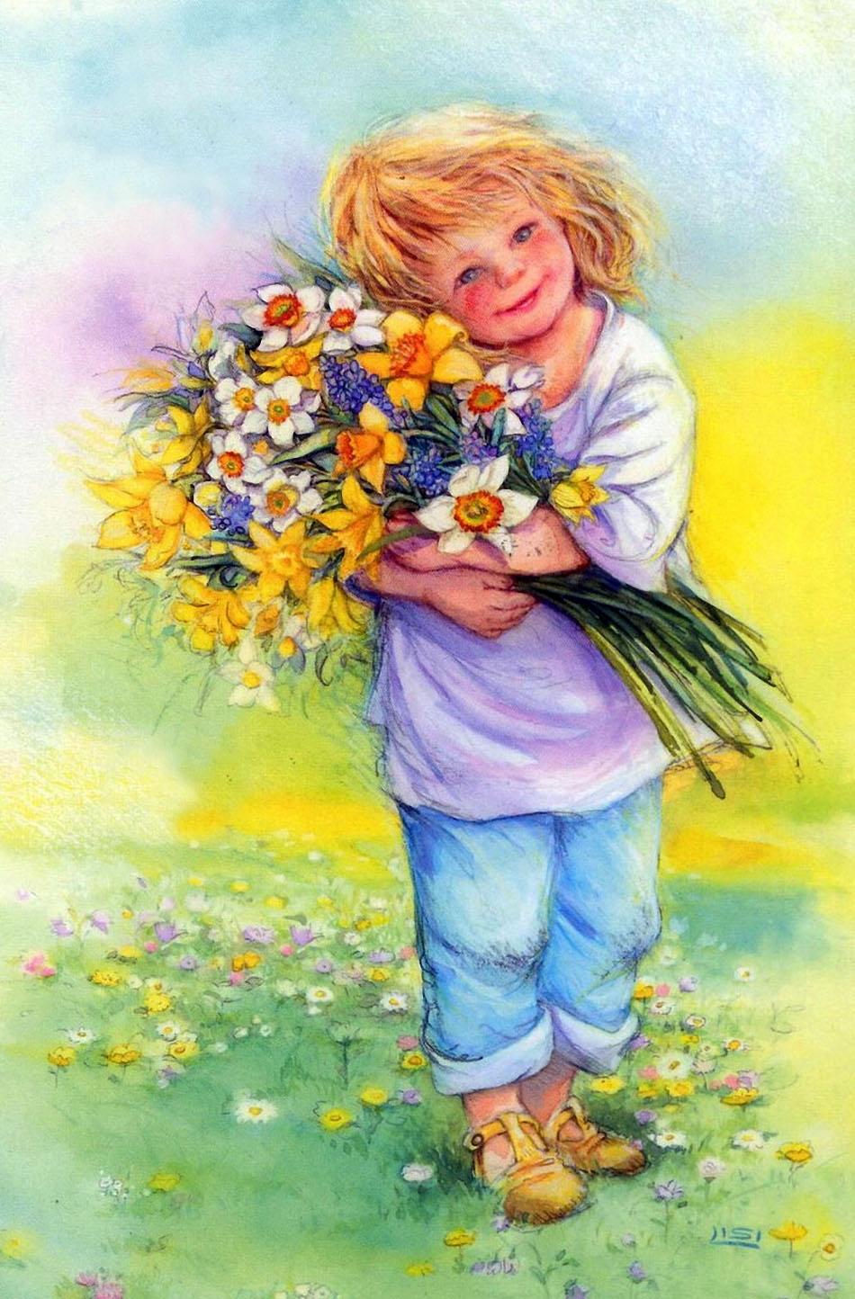 Поющая открытка для мамы